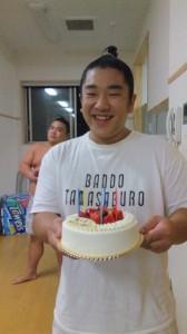 松ヶ浜君のお誕生日