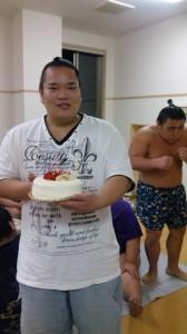 天海山のお誕生日