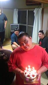 勝武士君の誕生日
